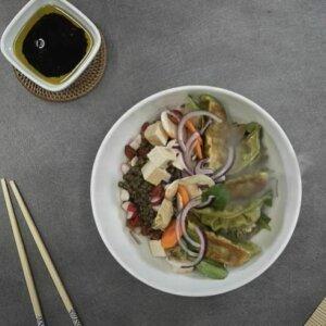 Lunch Bowl Gyoza